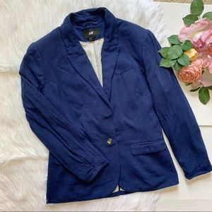H&M   Casual blue jacket